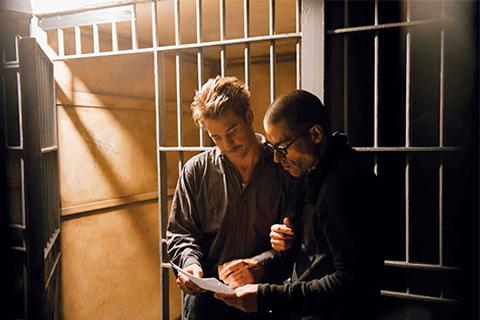 Scott Speedman and Nathan Morlando. Photo by Bryce Duffy
