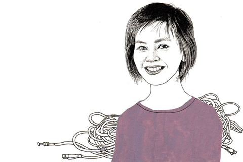 Joyce Poon. Illustration by Adam Cruft