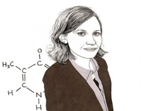 Julie Claycomb. Illustration by Adam Cruft