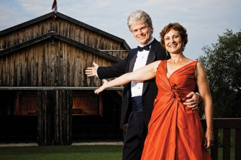 Brian Finley and Donna Bennett