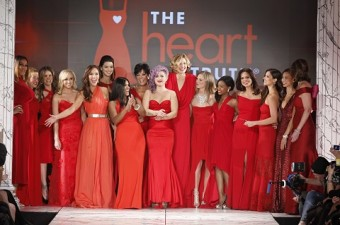 Celebrities at Red Dress Collection 2013, New York Fashion Week. Photo by Dan Lecca for The Heart Truth, National Institutes of Health