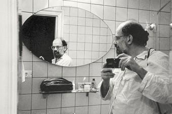 Self-portrait of Allen Ginsberg,