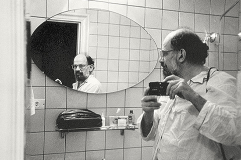 Self-portrait of Allen Ginsberg,