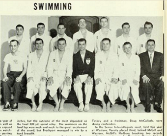 courtesy of U of T Archives, Torontonensis 1954
