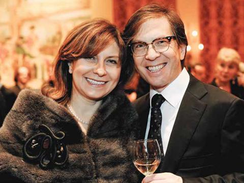 Photo of of Amira and Michael Dan.