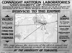 Image Courtesy Sanofi Pasteur Canada (Connaught Campus) Archives, Toronto.