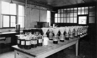 Photo of the Anti-Toxin Lab.