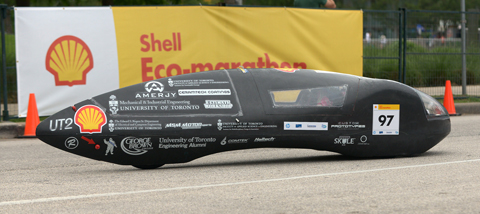 Photo of a Supermileage Car