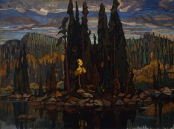 Painting by Arthur Lismer
