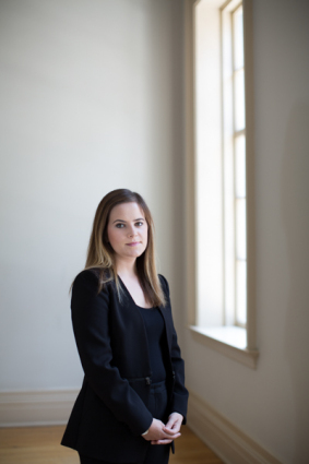 Becca Pace, has a business MBA and helped create TEDx in a box. Toronto, ON. August 26, 2014.