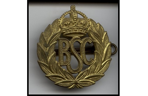 British Security Coordination badge. Image courtesy of Lynn Philip Hodgson.
