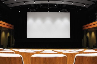 Photo of Innis Town hall's theatre.