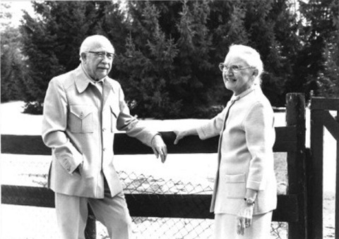 Fred and Norah Urquhart. Photo: courtesy U of T Archives