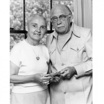Norah and Fred Urquhart. Photo: courtesy U of T Scarborough