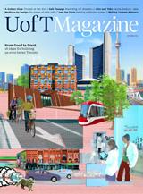 UofT Magazine Autumn 2015 cover