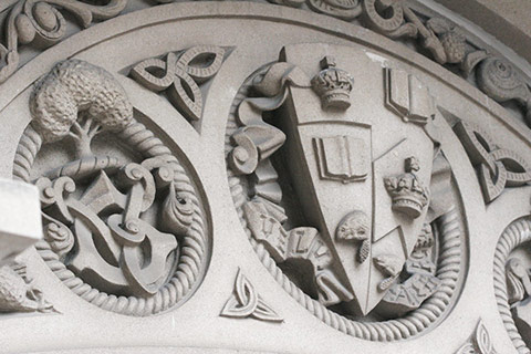 Photo of University of Toronto coat of arms