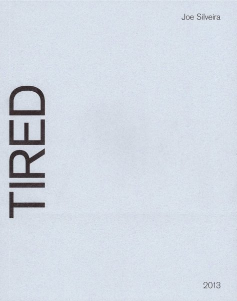 Cover of Joe Silveira's book So So Tired