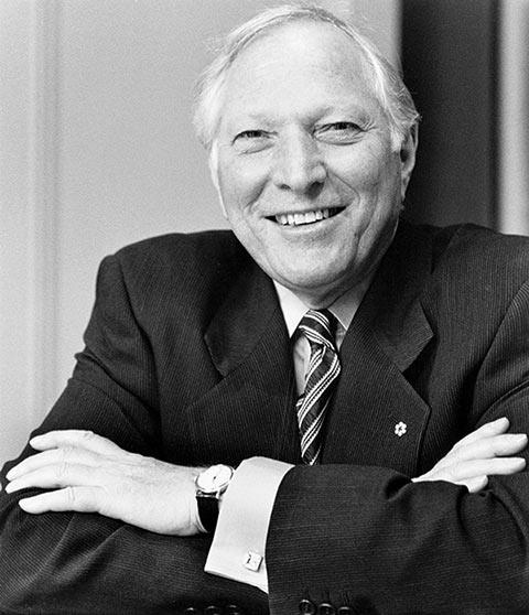 Black and white photo of Joseph Rotman