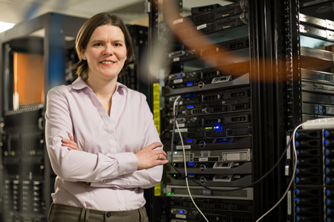 Natalie Enright Jerger, a professor of electrical and computer engineering is one of the first recipients of the Percy Edward Hart Professorship, worth $225,000 over three years.