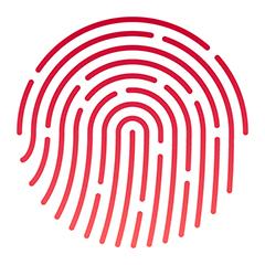Illustration of a thumbprint