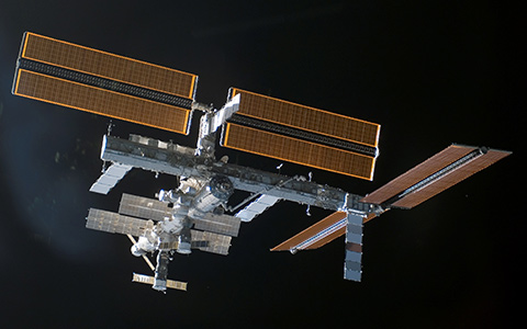 Photo of the International Space Station