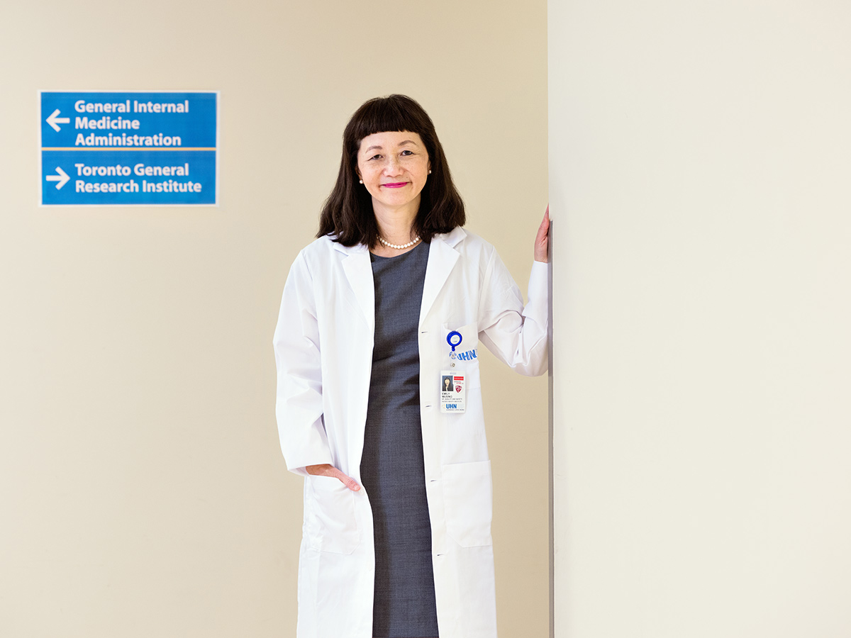 UHN chief patient safety officer Emily Musing at Toronto General Hospital.