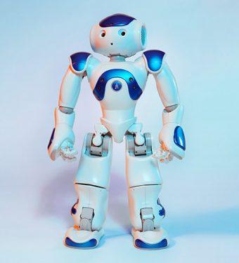 Photo of a MEDi robot.