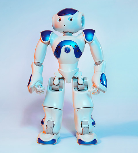 Photo of a MEDi robot.