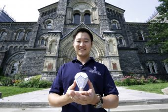 Gimmy Chu, a University of Toronto graduate, co-founded the green technology company Nanoleaf. They developed the Nanoleaf LED light bulb, the world's most energy-efficient bulb.