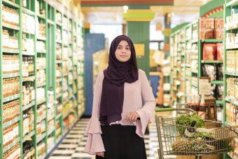 Nutritionist Nazima Qureshi shops at Planet Organic Market in Mississuaga