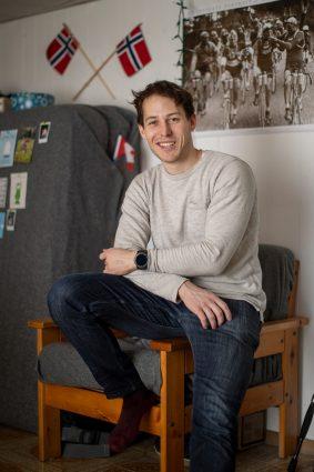 University of Toronto student Maximilian Regenold, from Freiburg, Germany, in his Toronto home, January 23, 2019