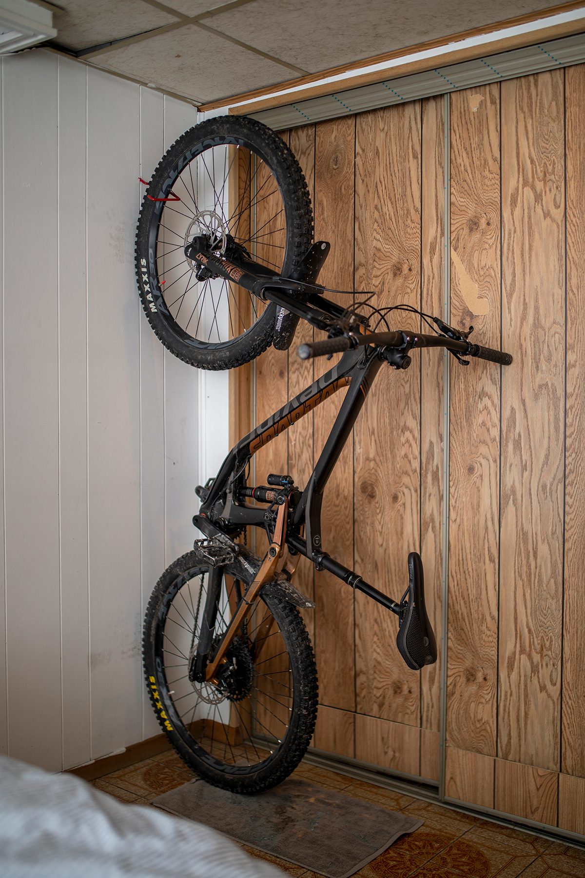 Mountain bike belonging to University of Toronto student Maximilian Regenold