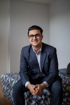 University of Toronto student Vipul Lalwani, of Mumbai, India, in his Scarborough home, January 24, 2019