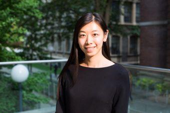 Outdoor photo of Stephanie Zhou