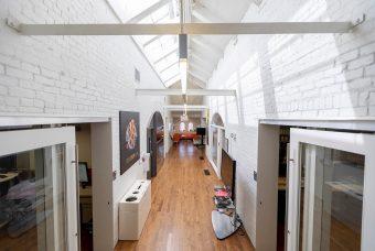 Hallway in the Citizen Lab