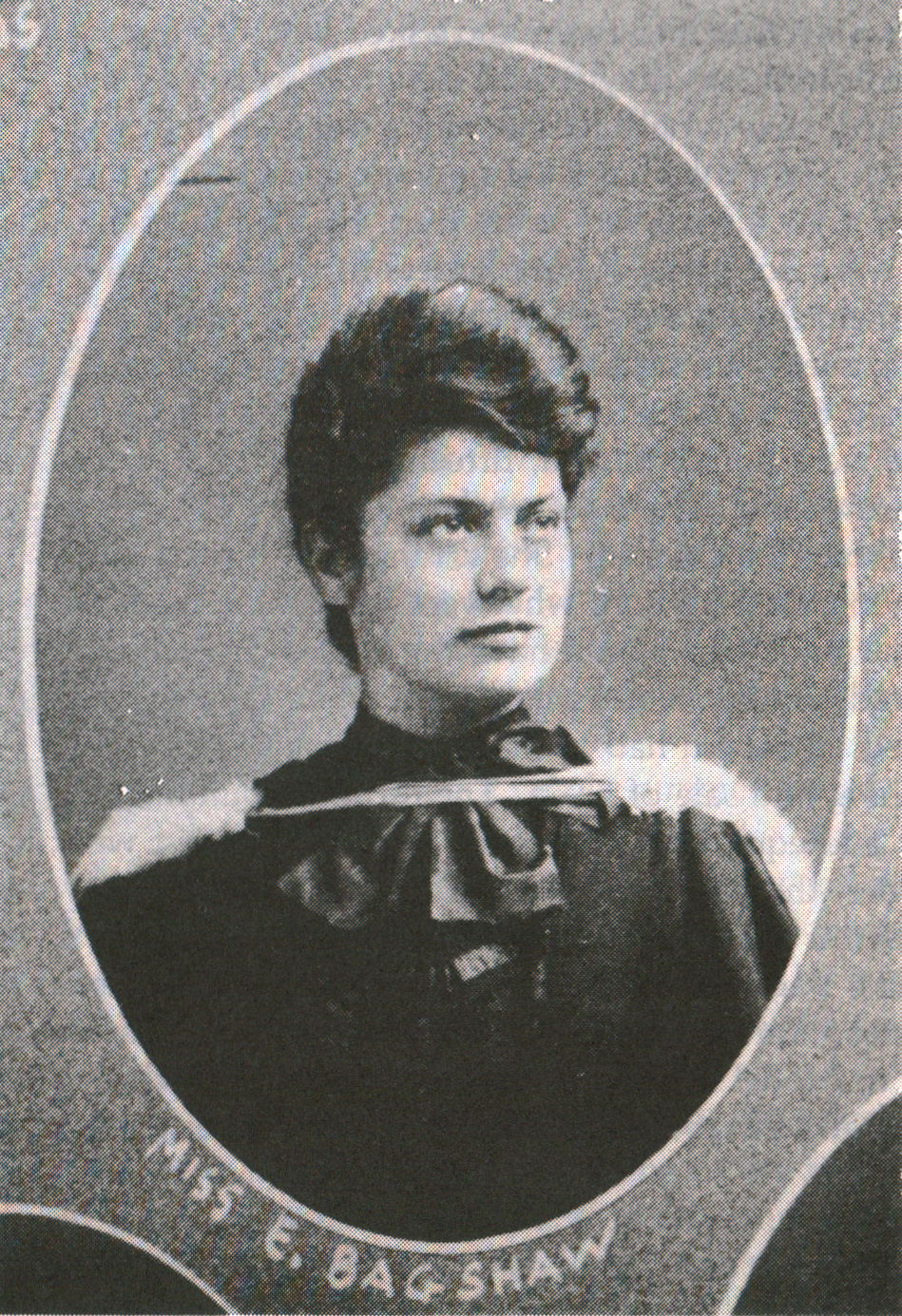 Graduation photo of Elizabeth Bagshaw