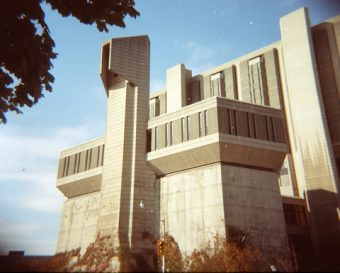 Robarts Library, from the south end of the building