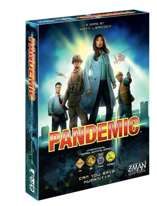 Photo of Pandemic board game box