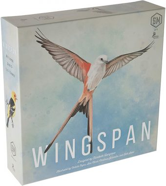 Photo of Wingspan board game box